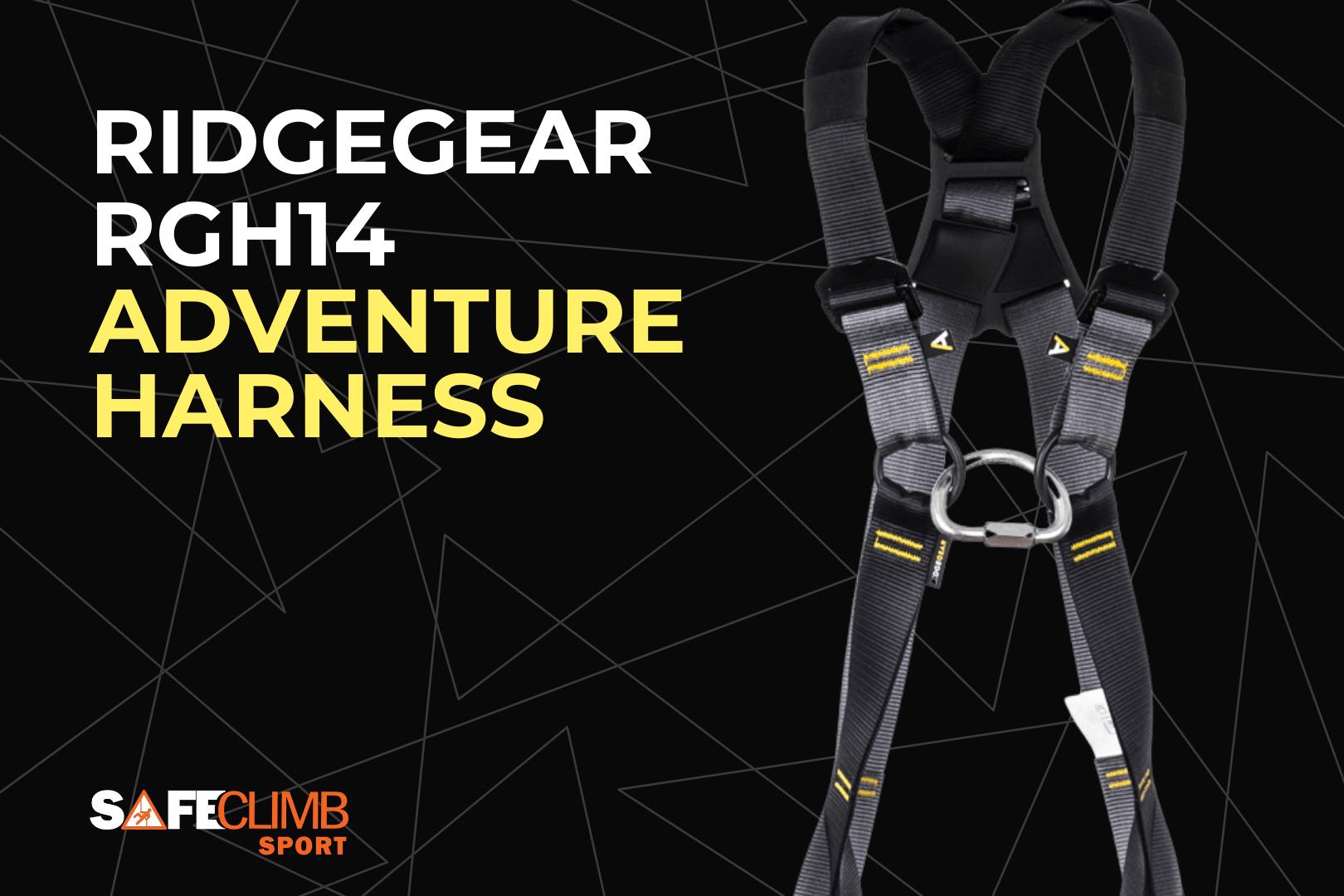 RidgeGear RGH14 Adventure Harness from SafeClimb