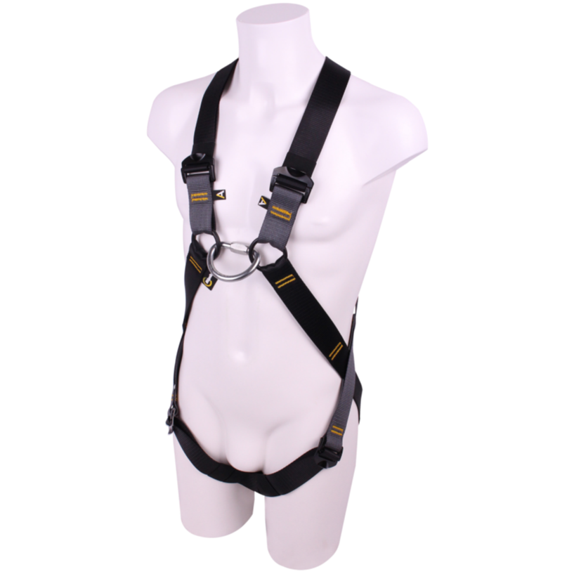 RGH14 Adventure Harness  Shown on a mannequin.