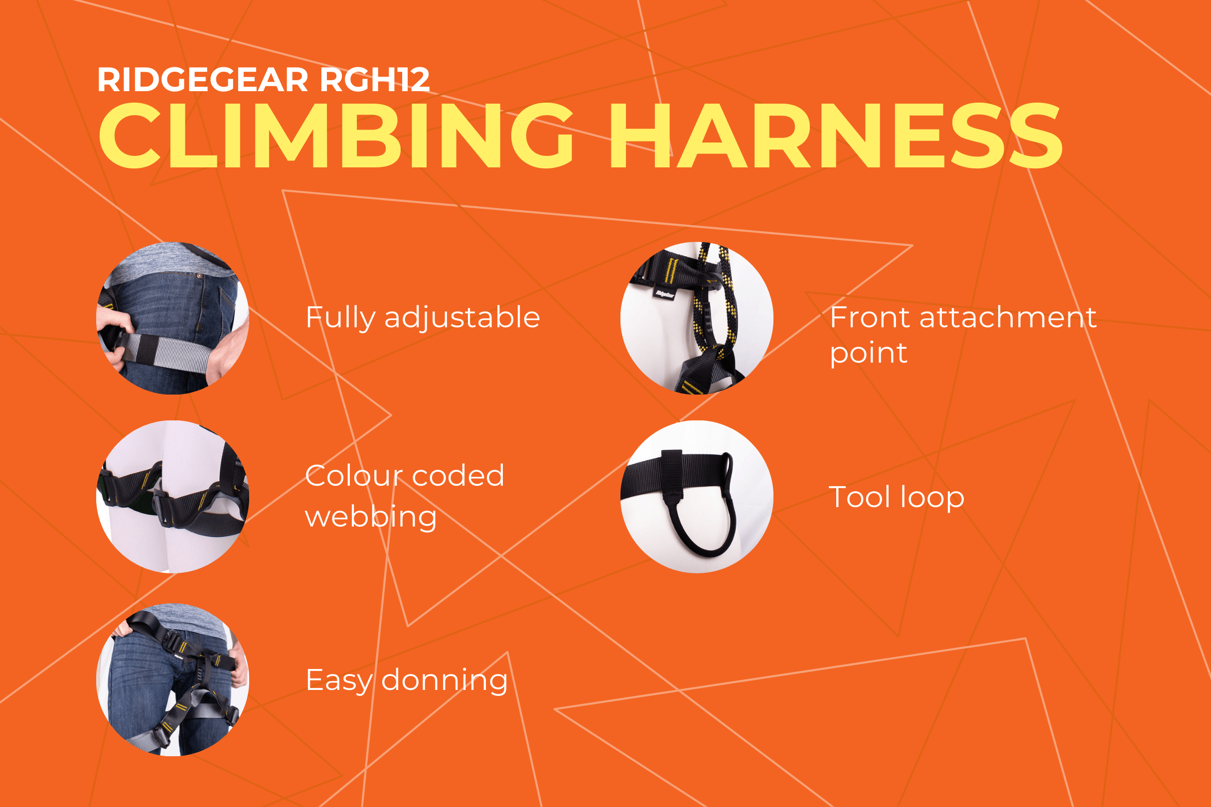 RGH12 Climbing Harness Key Features